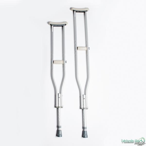 Alumīnija paduses kruķis - Костыль подмышечный, алюминиевый