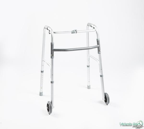 Staigāšanas rāmis ar riteņiem saliekamais - Опора для ходьбы с колёсами
