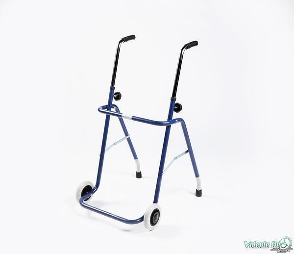 Staigulis ar 2 riteņiem un 2 pēdām - Ходунки с 2 колёсиками и 2 опорами