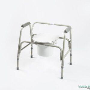Tualetes krēsls smagam cilvēkam - Туалетный стул для тяжеловеса