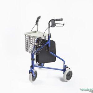 Āra staigulis ar 3 riteņiem un grozu - Ходунки прогулочные с 3 колёсиками и корзиной