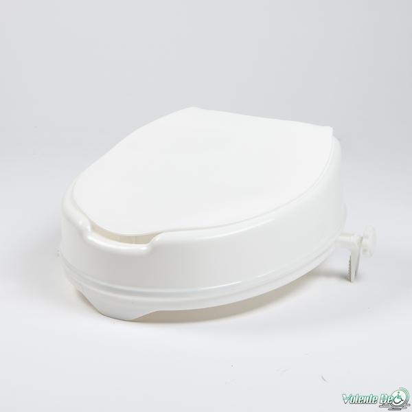 Paaugstinājums tualetes sēdeklim ar vaku - Возвышения для туалетных сидений