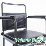 Tualetes krēsls ar riteņiem - Туалетный стул с колёсами
