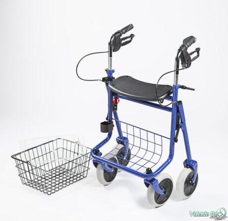 Āra staigulis ar 4 riteņiem - Ходунки прогулочные с 4 колёсиками
