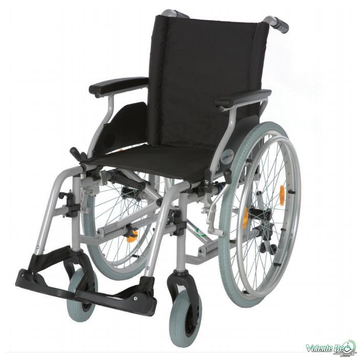 Vieglais invalīdu krēsls Lightman start - Облегчённое инвалидное кресло Lightman start