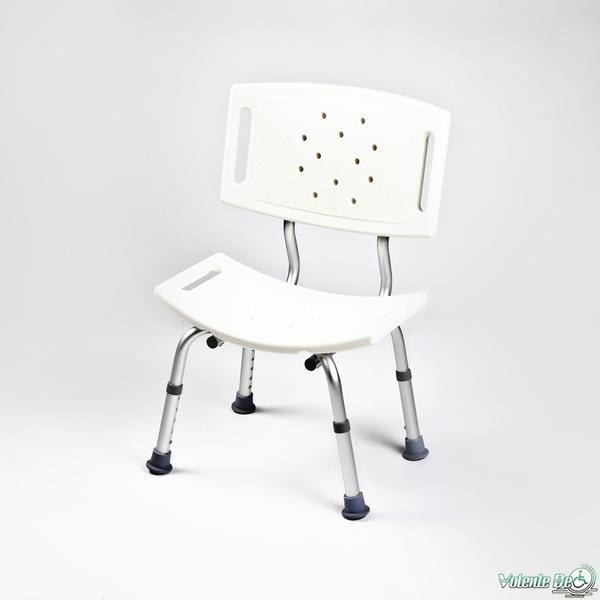 Dušas krēsls ar platu muguru - Душевой стул с широкой спинкой