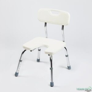 Dušas krēsls ar izgriezumu - Душевой стул.